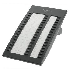 Panasonic KX-T7740X-B (DSS консоль, черная)