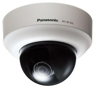 Panasonic WV-SF335E IP-видеокамера купольная HD 1280x960 1/3' МОП, объектив 2,8-10 мм.