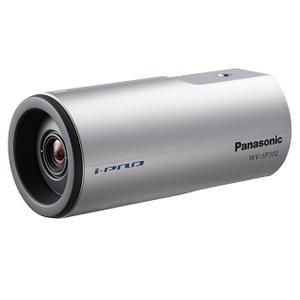 Panasonic WV-SP102E-видеокамера корпусная VGA 640x480 H.264/JPEG (M-JPEG), 1/5' МОП,