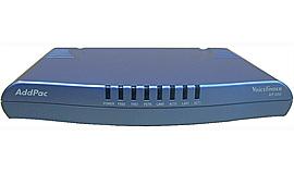 AddPac ADD-AP200E (1 FXO и  1FXS, 2x10BaseT), шлюз