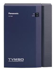 Panasonic KX-TVM50BX (Голосовая почта до 6 портов, до 8 часов записи, до 64 голосовых ящиков)