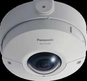 Panasonic WV-SFV481 IP-видеокамера купольная панорамная 360 гр.