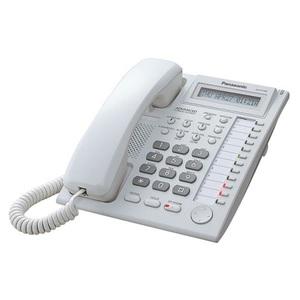 Panasonic KX-T7730RU (Аналоговый системный телефон с ЖК 12 клавиш)