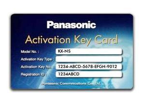 Panasonic KX-NSP001W Стандартный пакет ключей активации 1 user (е-мэйл /двух-ст запись) на 1 попьзо