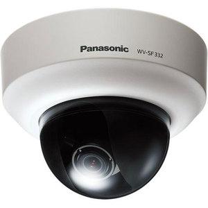 Panasonic WV-SF332E IP-видеокамера купольная SVGA 800x600  1/3' МОП, 0,2 лк цвет/0,1,объектив 2,8-10