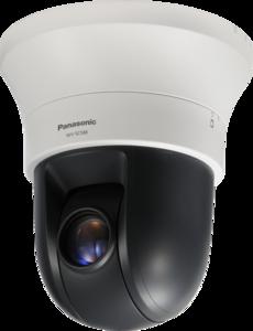 Panasonic WV-SC588-IP видеокамера скоростная купольнаяFull-HD 1920x1080 H.264/MPEG4/JPEG, 1/2,8' МОП