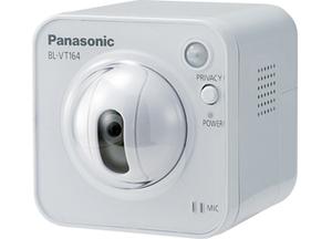 Panasonic BL-VT164WE IP-видеокамера безпроводная HD 1280x720 H.264/JPEG, 1/4' МОП,Wi-Fi