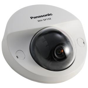 Panasonic WV-SF132 IP-видеокамера купольная фиксированная VGA 640x480 1.95 mm, PoE