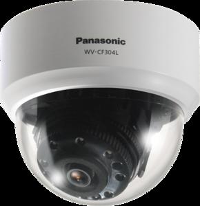 Panasonic WV-CF304LE Цветная купольная камера