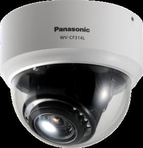 Panasonic WV-CF314LE Цветная купольная камера