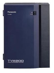 Panasonic KX-TVM200BX (Голосовая почта до 24 портов, до 1000 часов записи, до 1024 голосовых ящиков)