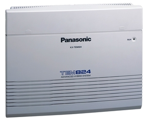 Panasonic KX-TEM824RU (Базовый блок 6 внешних/16 внутр. линий)