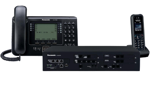Panasonic KX-NS500RU (Базовый блок, 6 внешних/18 внутренних линий)